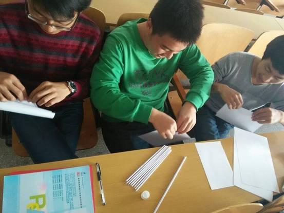 """科技节系列活动:""""纸桥承重""""_手工小制作"""