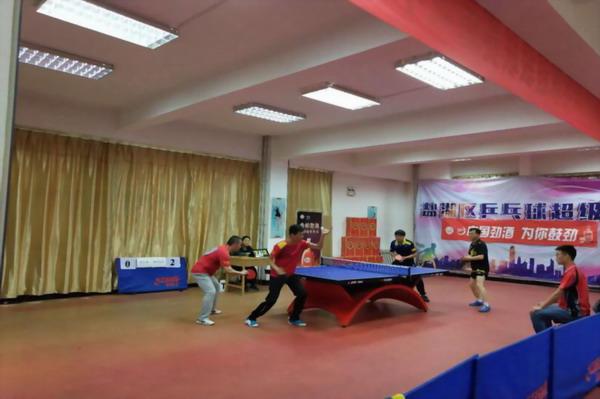 2018年盐湖区乒乓球超级联赛第四站 走进运城学院